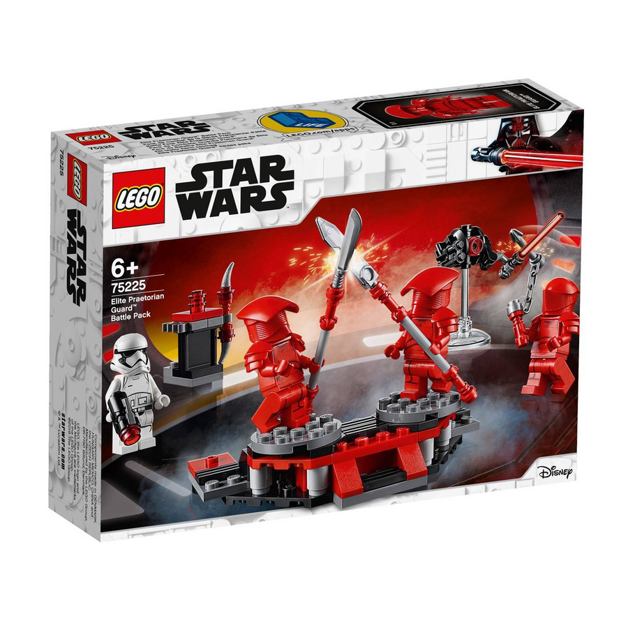 LEGO - 75225 Star Wars Elite Praetorian Guard™ Battle Pack (Retired)