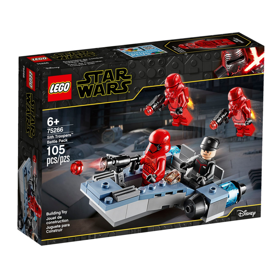 LEGO - 75266 Star Wars Sith Troopers™ Battle Pack