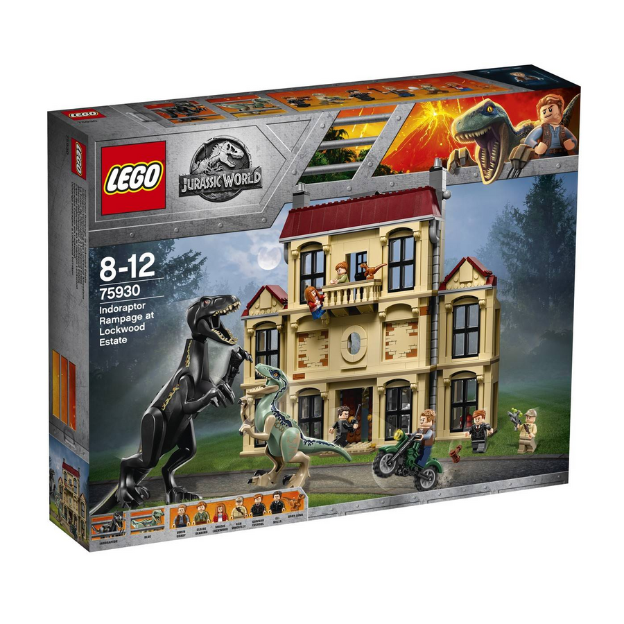 LEGO - 75930 Jurassic World Indoraptor Rampage at Lockwood Estate