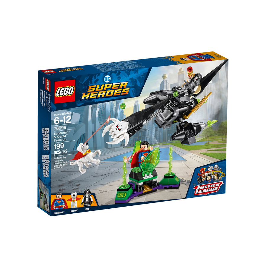 LEGO - 76096 DC Super Heroes Superman & Krypto Team up