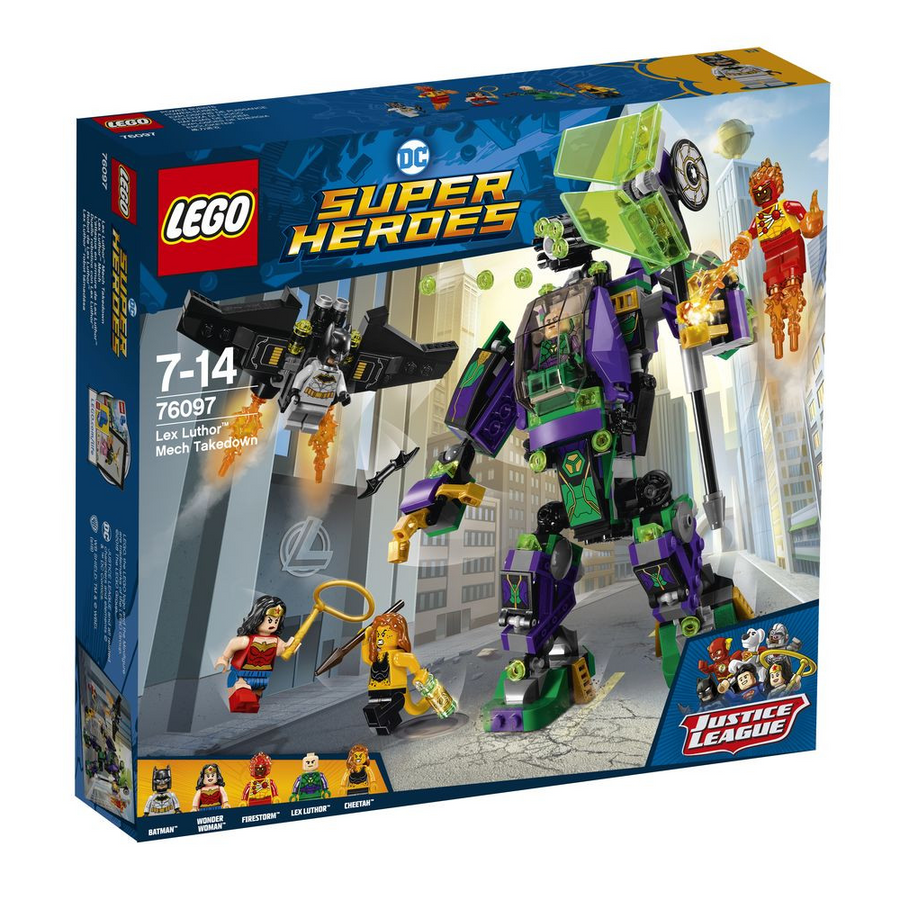 LEGO - 76097 DC Super Heroes Lex Luthor Mech Takedown