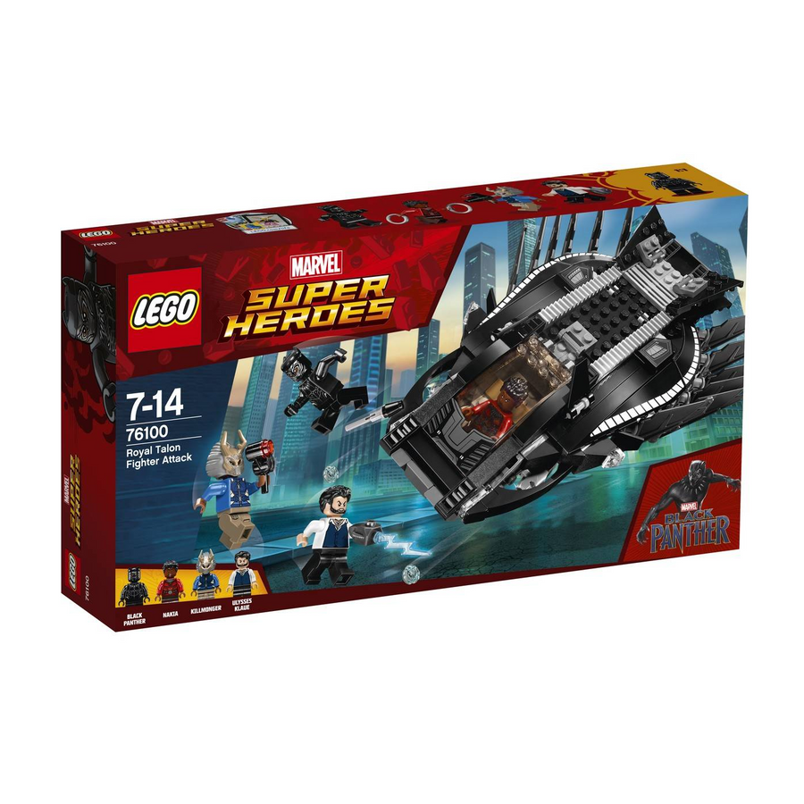 LEGO - 76100 Marvel Super Heroes Royal Talon Fighter Attack