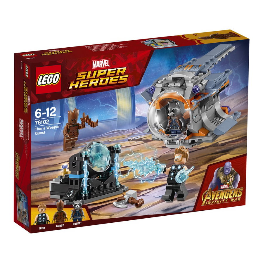 LEGO - 76102 Marvel Super Heroes Thor's Weapon Quest