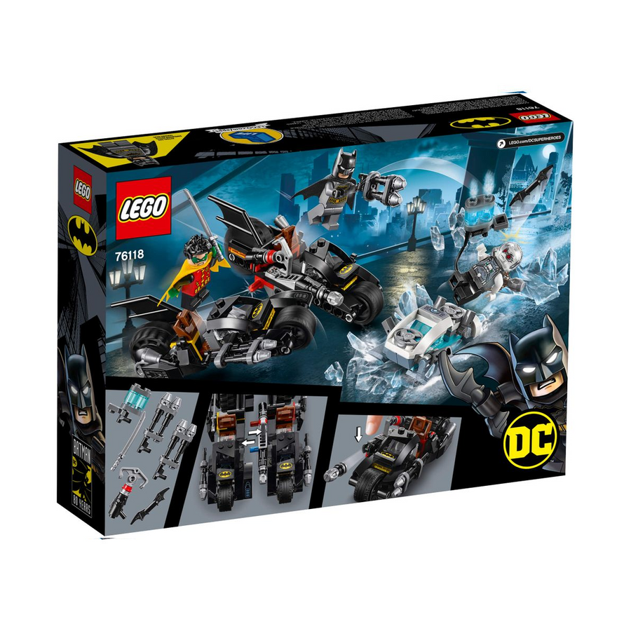 LEGO - 76118 Mr. Freeze™ Batcycle™ Battle