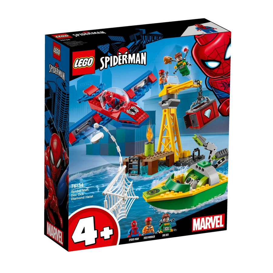LEGO - 76134 Spider-Man: Doc Ock Diamond Heist