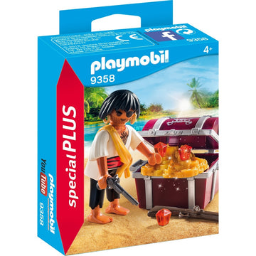Playmobil - 9358 Pirate with Treasure Chest