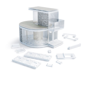 Arckit - MINI CURVE Architectural Model Building Design Tool Kit