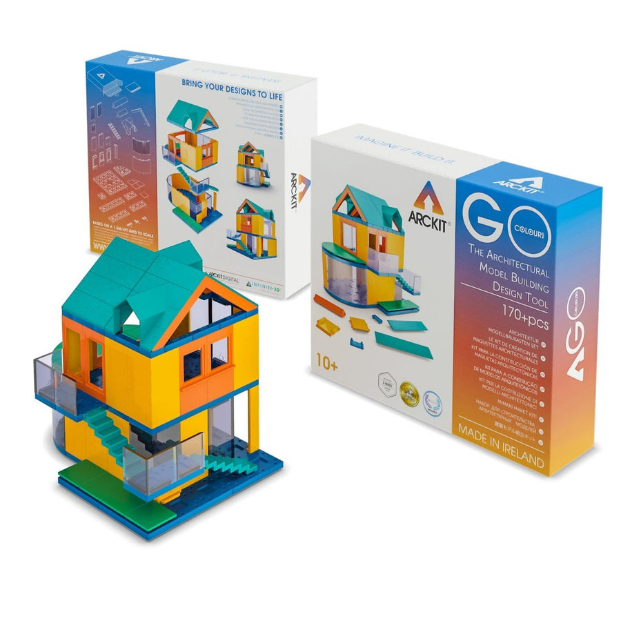 Arckit - GO COLOURS Architectural Model Building Design Tool Kit