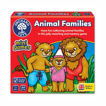 Orchard Toys - Animal Families Mini Game 4+