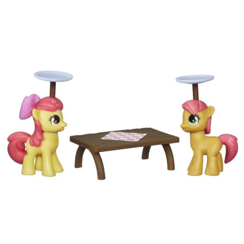 My Little Pony Apple Bloom & Sweetie Babs Figures Play Set