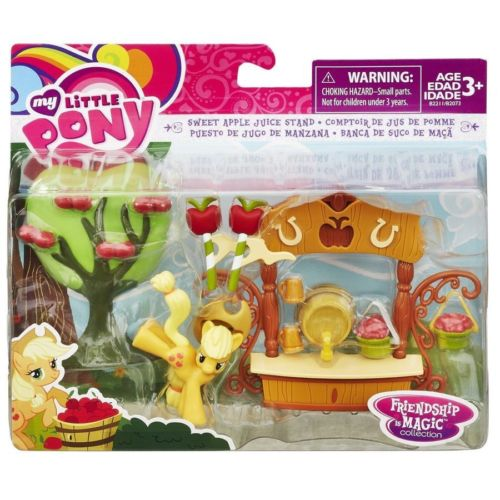 My Little Pony Applejack Sweet Apple Juice Stand Play Set
