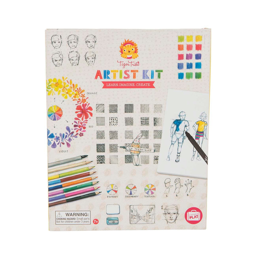 Tiger Tribe - Artist Kit - Learn. Imagine. Create. 7+