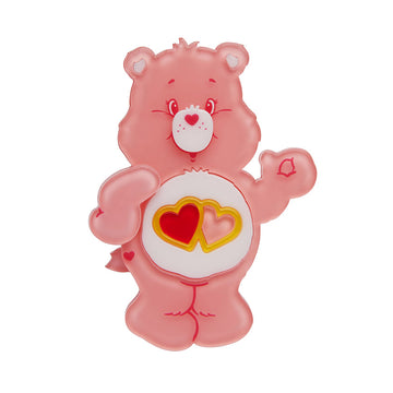 Erstwilder -  Care Bears Love-a-Lot Bear Brooch