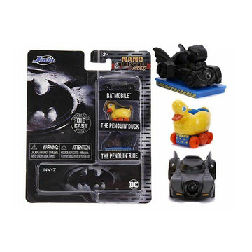 Jada Toys Nano Hollywood Rides - Batman Returns 3-pack