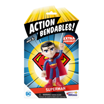 Action Bendables SUPERMAN by NJ Crose