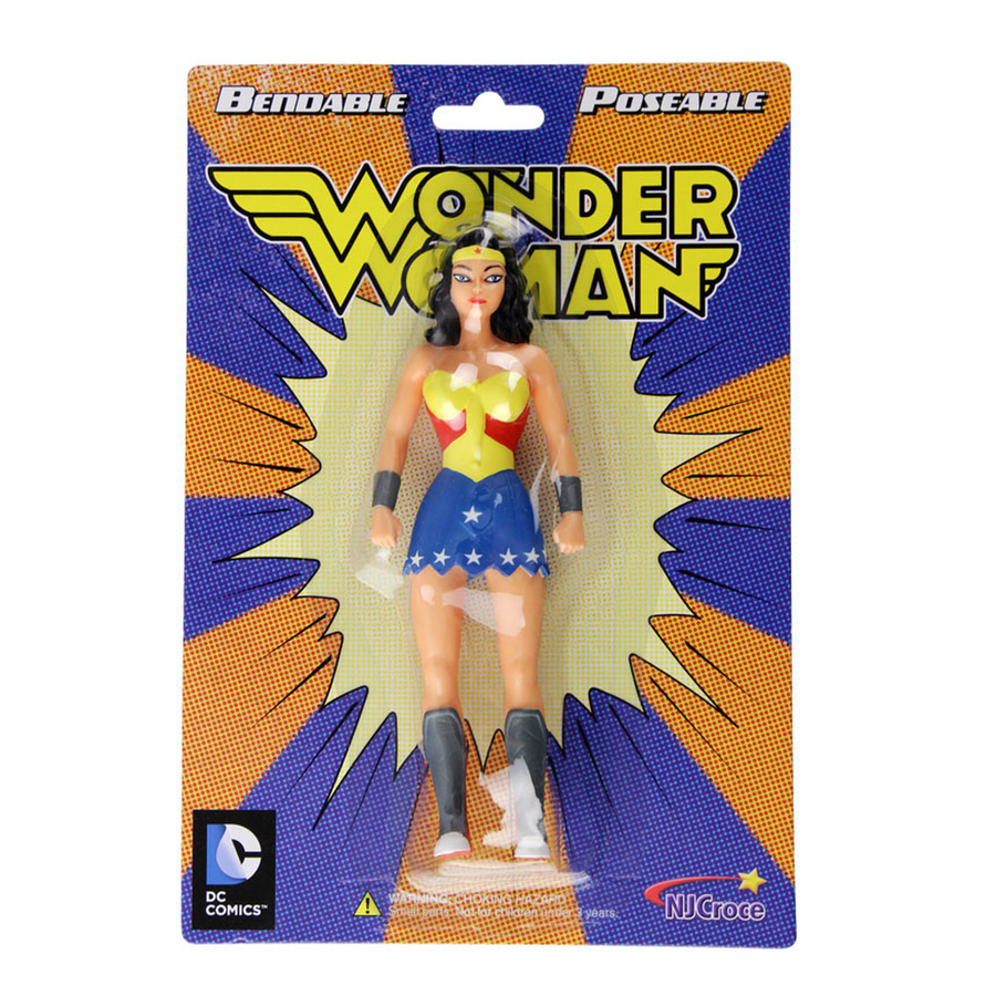 Bendable Poseable WONDER WOMAN by NJ Crose