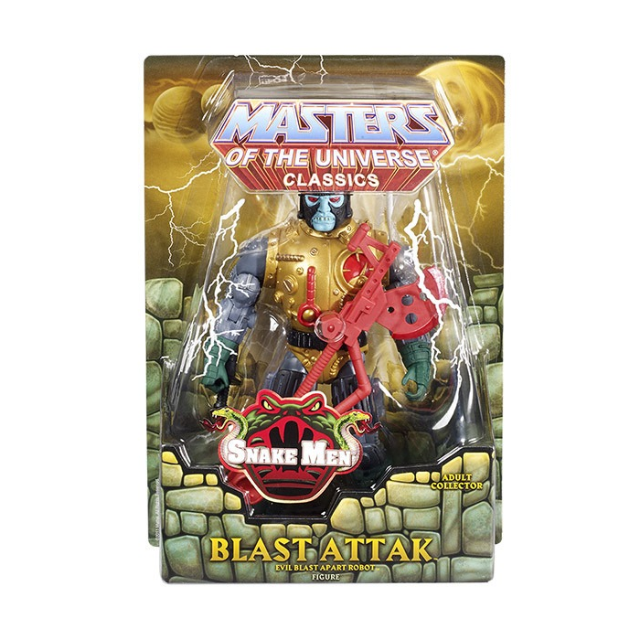Masters of the Universe Classics (MOTUC) Blast Attak