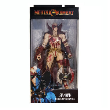 "McFarlane Mortal Kombat - Spawn Blood Feud Hunter Skin 7"" Action Figure"