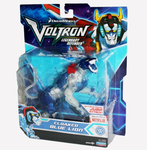 VOLTRON Cloaked Blue Lion