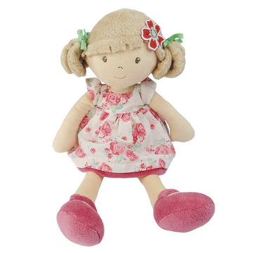 Bonnika Flower Kid Doll - Scarlet with Beige Bleach Hair