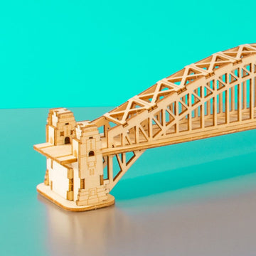 Kigumi - Sydney Harbour Bridge Plywood Puzzle