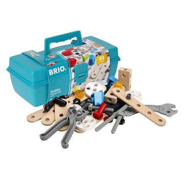 BRIO Builder - Starter Set Tool Box 49 pieces