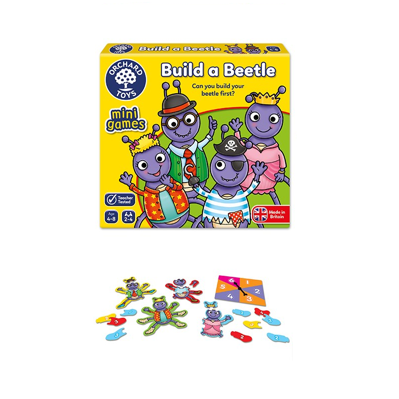 Orchard Toys - Build a Beetle Mini Game 4-8yo
