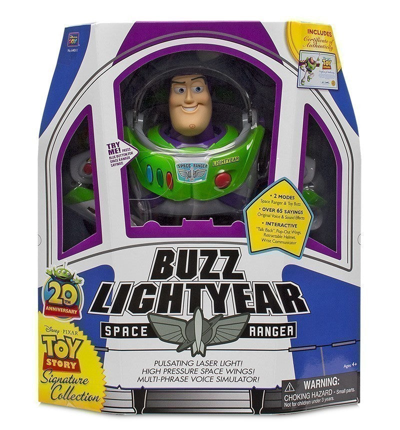 Toy Story Buzz Lightyear Signature Collection 20th Anniversary