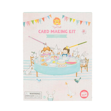 Tiger Tribe - Card Making Kit - Party 5+