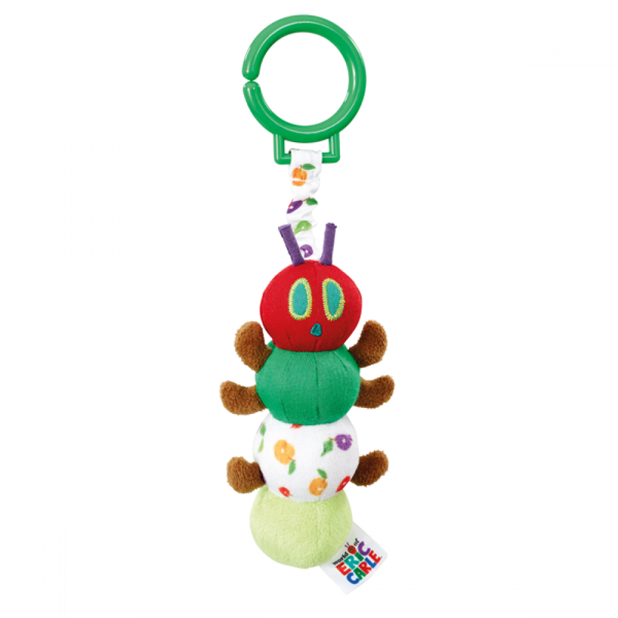 Tiny Very Hungry Caterpillar - Pull Down Jiggle Attachable