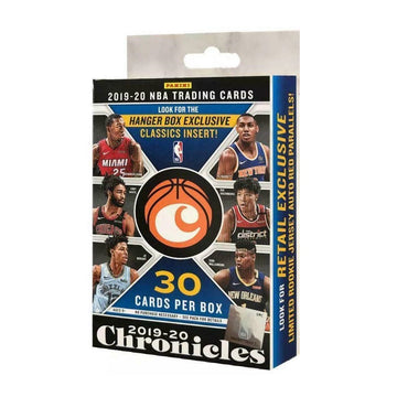2019-20 Panini Chronicles NBA Trading Cards 30 pack Hanger Box Exclusive