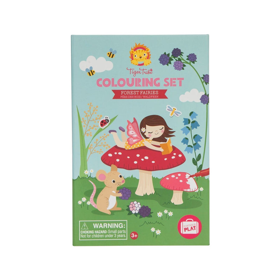 Tiger Tribe - Colouring Set - Forest Fairies 3+