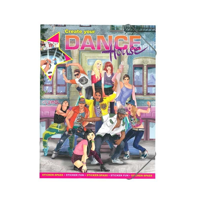 Creative Studio - Create your Dance House Sticker Book