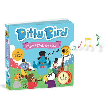 Ditty Bird - Classical Music Musical Board Book