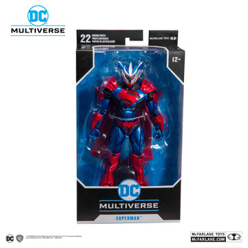 McFarlane DC Multiverse - Superman Unchained Armor Armour