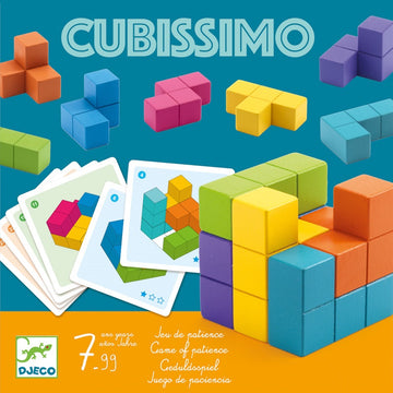 Djeco - Cubissimo Game 7- 99 years old