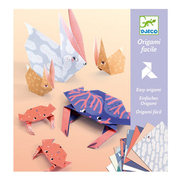 Djeco - Easy Origami Animal Family 6+
