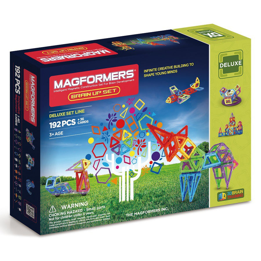 Magformers Brain Up Set 192