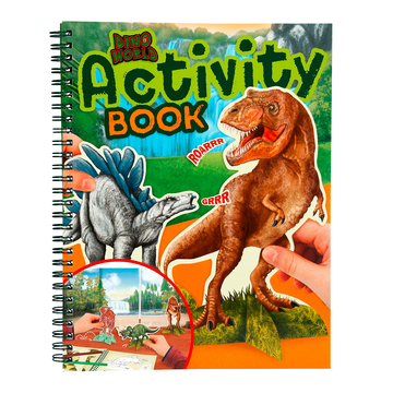 Dino World Dinosaurs Activity Book by Depesche