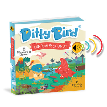 Ditty Bird - Dinosaur Sounds Board Book