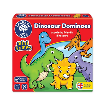 Orchard Toys - Dinosaur Dominoes Mini Game 3-5yo