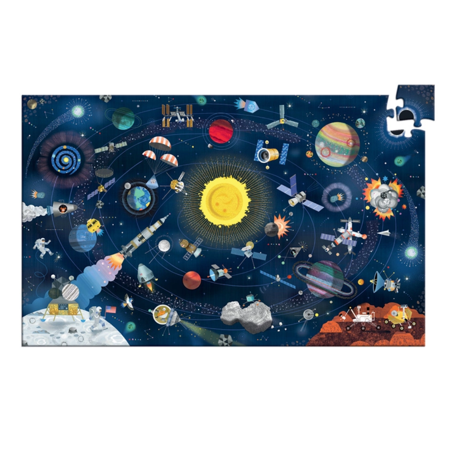 Djeco Puzzle Observation - Outer Space 200pc 6+