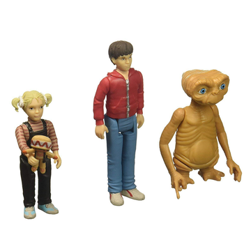 E.T., Elliot & Gertie ReAction 3Pk