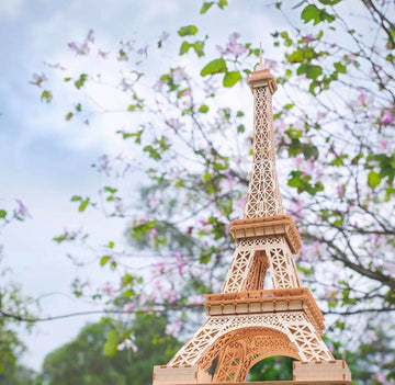 Kigumi - Eiffel Towel Large Plywood Puzzle