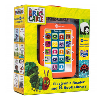 ME Reader The World of Eric Carle - Electronic Reader and 8-Book Library Hardcover