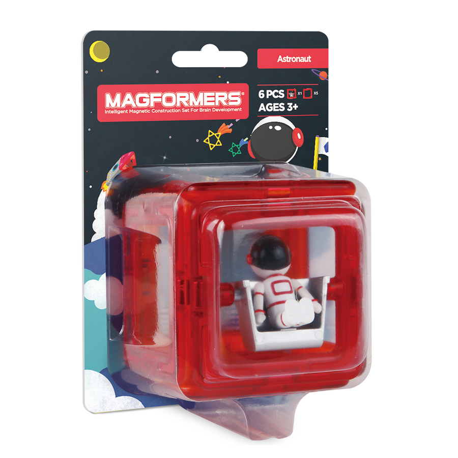 Magformers Figure Plus Set (Astronaut Square)