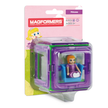 Magformers Figure Plus Set (Princess Square)