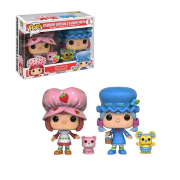Strawberry Shortcake - Strawberry & Blueberry Scented US Exclusive Pop! Vinyls 2 pack