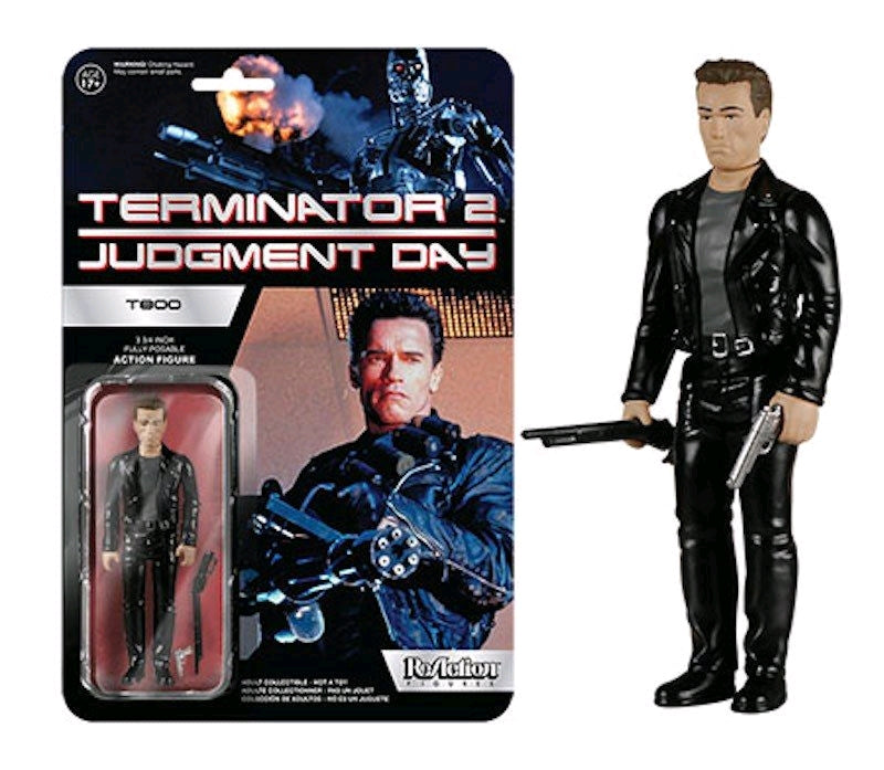 Terminator 2 - Terminator Reaction Figure