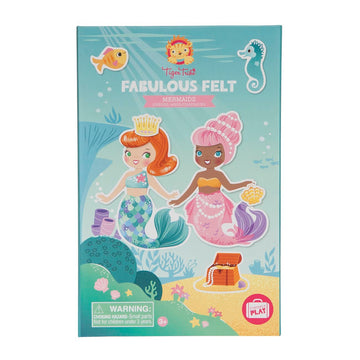 Tiger Tribe - Fabulous Felt - Mermaids 3+